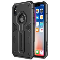 Defender II Hybrid Hoesje iPhone X - Zwart
