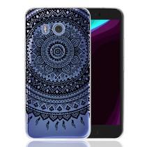 Mandala Design Hoesje + TPU Bumper HTC U11