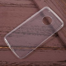 Ultraslim TPU Hoesje Motorola Moto G5 Plus - Transparant