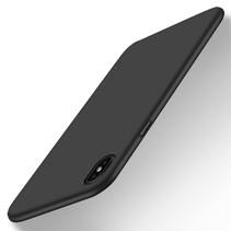 X-level Hardcase Hoesje iPhone Xr - Zwart