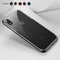 Baseus Hardcase Hoesje iPhone Xr - Zwart