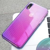 Baseus Hybrid Hoesje iPhone Xr - Roze