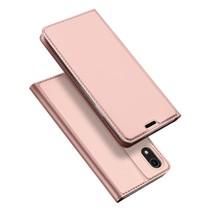 Dux Ducis Booktype Hoesje iPhone Xr - Roze /Goud