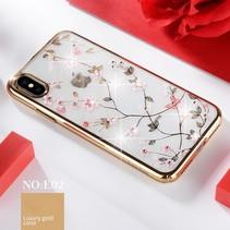 Sulada Hardcase Hoesje iPhone Xr - Goud