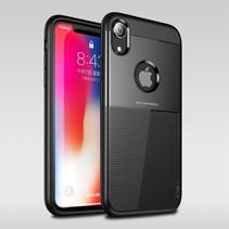 Ipaky Hybrid Hoesje iPhone Xr - Zwart