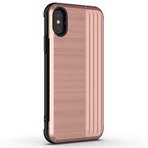 Angibabe Hybrid Hoesje iPhone Xr - Roze Goud
