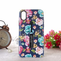 Verse bloemen Hybrid Hoesje iPhone Xr