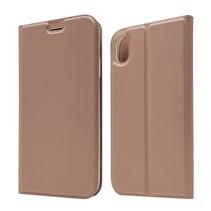 Booktype Hoesje iPhone Xr - Roze Goud