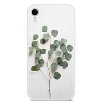 Groene Bladeren TPU Hoesje iPhone Xr
