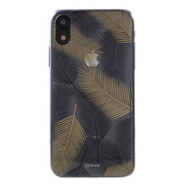 Roar Korea Hybrid Hoesje iPhone Xr - Zwart / Geel