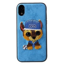 Mutural Coole Hond Hybrid Hoesje iPhone Xr