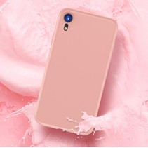 Totu TPU Hoesje iPhone Xr - Roze / Goud