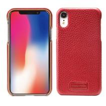 Pierre Cardin Litchee Hardcase Hoesje iPhone Xr - Rood