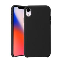 siliconen Hoesje iPhone Xr - Zwart