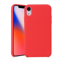 siliconen Hoesje iPhone Xr - Rood