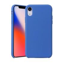 siliconen Hoesje iPhone Xr - Blauw