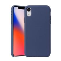 siliconen Hoesje iPhone Xr - Donker Blauw