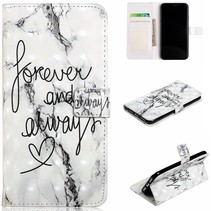 Forever and Always Booktype Hoesje iPhone Xr