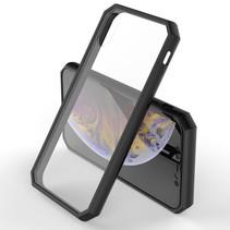 Hybrid Hoesje iPhone Xr - Zwart