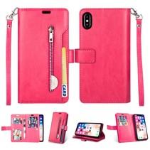 Booktype Hoesje iPhone Xr - Roze