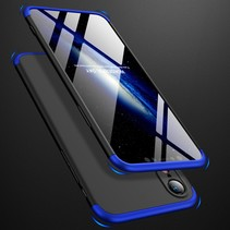 Gkk Hardcase Hoesje iPhone Xr - Blauw / Zwart