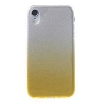 Hybrid Hoesje iPhone Xr - Goud