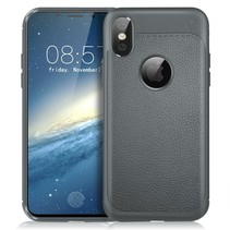 Ivso TPU Hoesje iPhone XS - Grijs