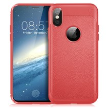 Ivso TPU Hoesje iPhone XS - Rood