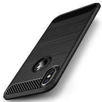 Ipaky TPU Hoesje iPhone XS - Zwart