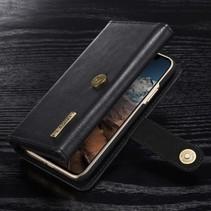 Dg.Ming Booktype Hoesje iPhone XS - Zwart