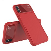 Lenuo TPU Hoesje iPhone XS - Rood