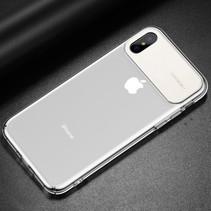 Baseus TPU Hoesje iPhone XS - Wit