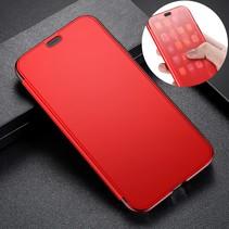 Baseus Hybrid Hoesje iPhone XS - Rood
