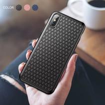 Baseus Hardcase Hoesje iPhone XS - Zwart