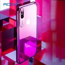 Rock Hardcase Hoesje iPhone XS - Rood