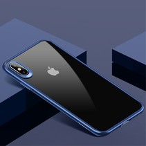Usams Hybrid Hoesje iPhone XS - Blauw