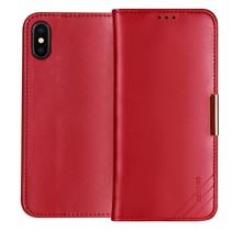 Dzgogo Booktype Hoesje iPhone XS - Rood