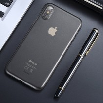Benks Booktype Hoesje iPhone XS - Transparant