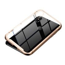 Baseus Hardcase Hoesje iPhone XS - Goud