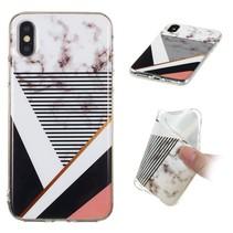 Marmer TPU Hoesje iPhone XS