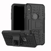 Hybrid Hoesje iPhone XS - Zwart