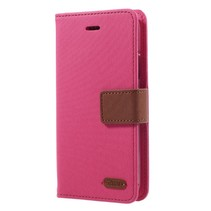 Roar Korea Booktype Hoesje iPhone XS - Roze