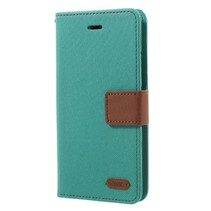 Roar Korea Booktype Hoesje iPhone XS - Groen