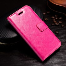 Booktype Hoesje iPhone XS - Roze