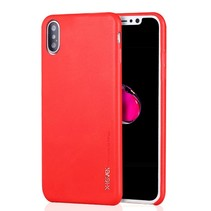 X-level Hardcase Hoesje iPhone XS Max - Rood