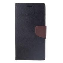 Mercury Goospery Booktype Hoesje iPhone XS Max - Zwart