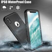 Redpepper Waterdicht Hoesje iPhone XS Max - Zwart