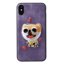 Mutural Kat Hybrid Hoesje iPhone XS Max