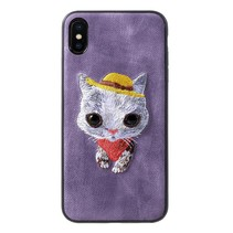 3D Mutural Kat Hybrid Hoesje iPhone XS Max