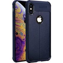 Imak TPU Hoesje iPhone XS Max - Blauw